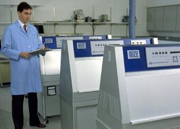 实验室紫外线耐侯试验机
